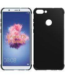 Huawei P Smart Schokbestendig TPU Hoesje Zwart