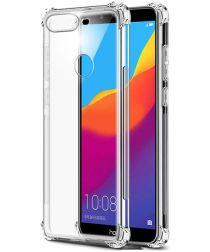 Huawei P Smart Schokbestendig TPU Hoesje Transparant