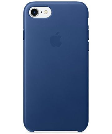Originele Apple iPhone 8 / 7 Leather Case Sapphire Blue