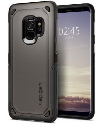 Spigen Hybrid Armor Hoesje Samsung Galaxy S9 Gunmetal Hoesjes