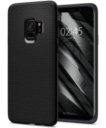 Spigen Liquid Air Hoesje Samsung Galaxy S9 Zwart