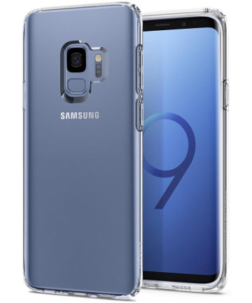 Spigen Liquid Crystal Hoesje Samsung Galaxy S9 Transparant