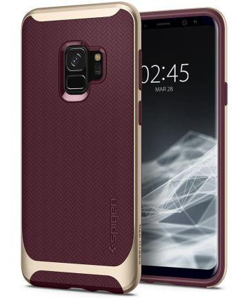 Spigen Neo Hybrid Hoesje Samsung Galaxy S9 Burgundy