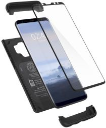 Spigen Thin Fit 360 Hoesje Samsung Galaxy S9 Black