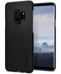 Spigen Thin Fit Hoesje Samsung Galaxy S9 Black