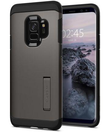 Spigen Tough Armor Hoesje Samsung Galaxy S9 Gunmetal Hoesjes