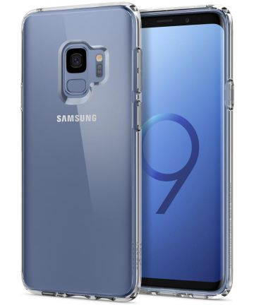 Spigen Ultra Hybrid Hoesje Samsung Galaxy S9 Crystal Clear Hoesjes