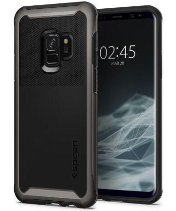 Spigen Neo Hybrid Urban Hoesje Samsung Galaxy S9 Gunmetal