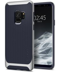 Spigen Neo Hybrid Hoesje Samsung Galaxy S9 Arctic Silver