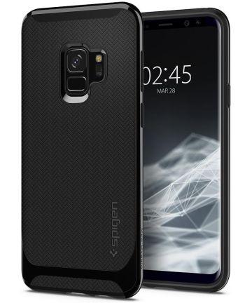 Spigen Neo Hybrid Hoesje Samsung Galaxy S9 Shiny Black