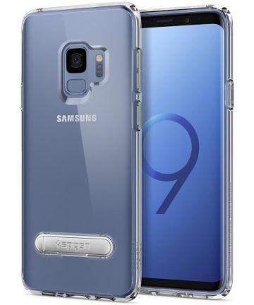 Spigen Ultra Hybrid S Hoesje Samsung Galaxy S9 Crystal Clear