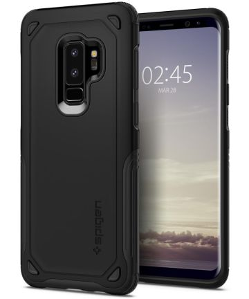 Spigen Hybrid Armor Hoesje Samsung Galaxy S9 Plus Zwart