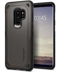Spigen Hybrid Armor Hoesje Samsung Galaxy S9 Plus Gunmetal