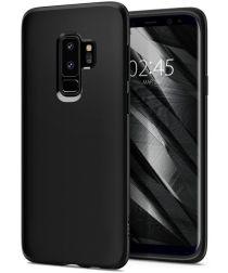 Spigen Liquid Crystal Samsung Galaxy S9 Plus Hoesje Matte Black