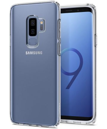 Spigen Liquid Crystal Hoesje Samsung Galaxy S9 Plus Clear