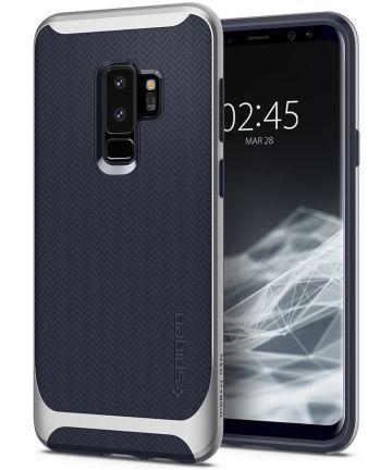 Spigen Neo Hybrid Case Samsung Galaxy S9 Plus Arctic Silver Hoesjes