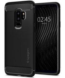 Spigen Rugged Armor Case Samsung Galaxy S9 Plus Matte Black