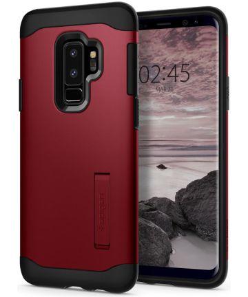Spigen Slim Armor Hoesje Samsung Galaxy S9 Plus Red
