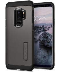 Spigen Tough Armor Hoesje Samsung Galaxy S9 Plus Gunmetal