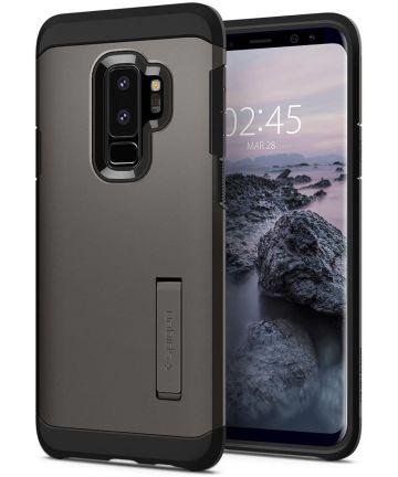Spigen Tough Armor Hoesje Samsung Galaxy S9 Plus Gunmetal