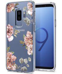 Spigen Liquid Crystal Samsung Galaxy S9 Plus Hoesje Blossom Flower