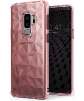 Ringke Air Prism Hoesje Samsung Galaxy S9 Plus Roze Goud Hoesjes