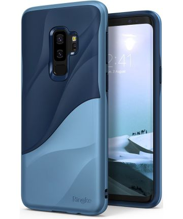 Ringke Wave Hoesje Samsung Galaxy S9 Plus Coastal Blue