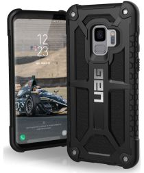 Urban Armor Gear Monarch Hoesje Samsung Galaxy S9 Black