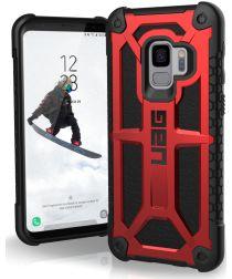 Urban Armor Gear Monarch Hoesje Samsung Galaxy S9 Crimson
