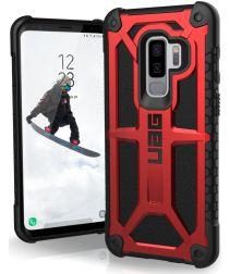 Urban Armor Gear Monarch Hoesje Samsung Galaxy S9 Plus Crimson