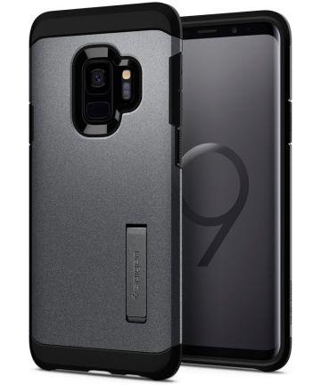 Spigen Tough Armor Case Samsung Galaxy S9 Graphite Gray Hoesjes