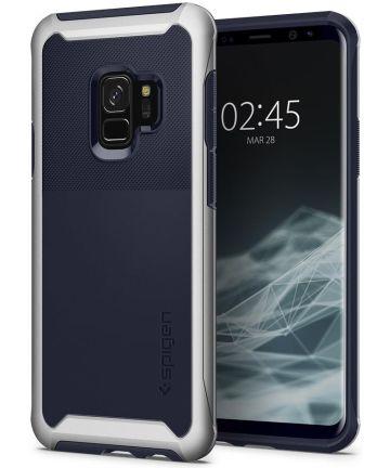 Spigen Neo Hybrid Urban Hoesje Galaxy S9 Arctic Silver Hoesjes