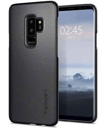 Spigen Thin Fit Case Samsung Galaxy S9 Plus Graphite Gray