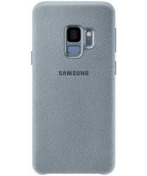 Samsung Galaxy S9 Alcantara Cover Mint