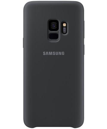 Samsung Galaxy S9 Silicone Cover Zwart