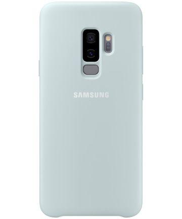 Samsung Galaxy S9 Plus Silicone Cover Blauw