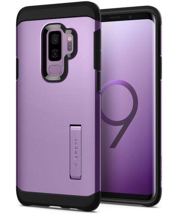 Spigen Tough Armor Hoesje Samsung Galaxy S9 Plus Lilac Purple