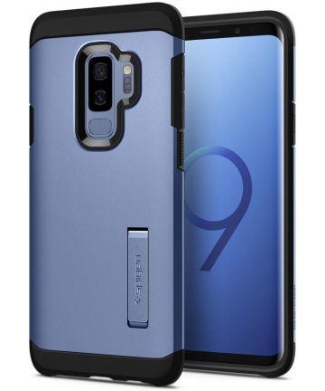 Spigen Tough Armor Hoesje Samsung Galaxy S9 Plus Coral Blue