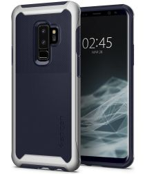 Spigen Neo Hybrid Urban Hoesje Galaxy S9 Plus Arctic Silver