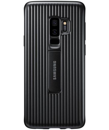 Samsung Galaxy S9 Plus Protective Stand Cover Zwart