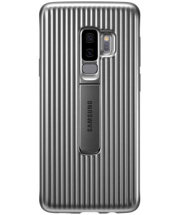 Samsung Galaxy S9 Plus Protective Stand Cover Zilver