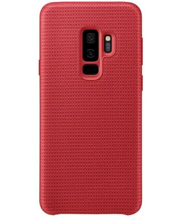 Samsung Galaxy S9 Plus Hyperknit cover rood Hoesjes