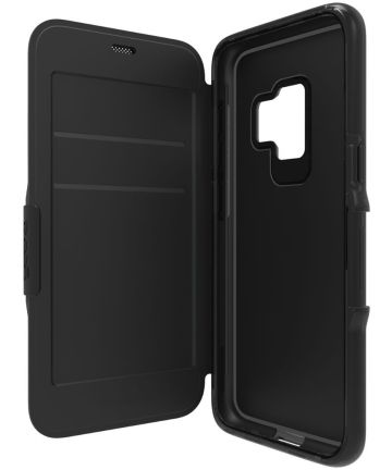 Gear4 D30 Oxford Samsung Galaxy S9 Plus Flip Hoesje Zwart