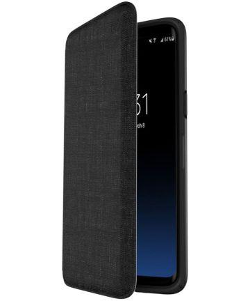 Speck Presidio Booklet Hoesje Samsung Galaxy S9 Plus Zwart