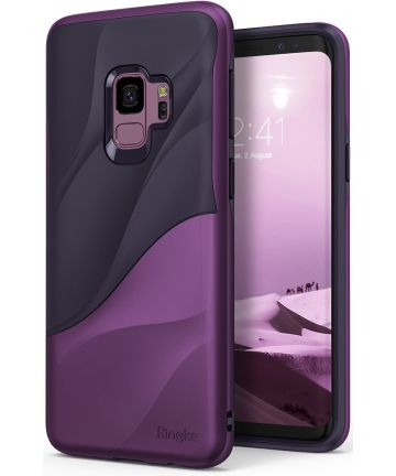 Ringke Wave Hoesje Samsung Galaxy S9 Metallic Purple Hoesjes