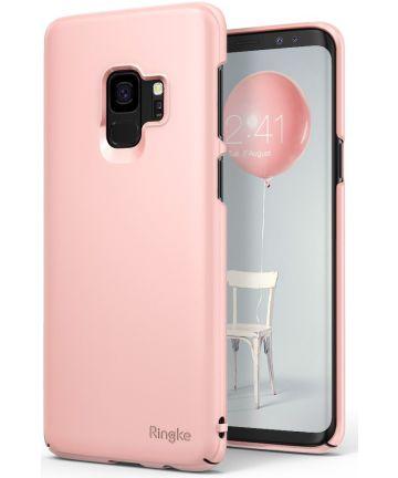 Ringke Slim Samsung Galaxy S9 Ultra Dun Hoesje Peach Pink Hoesjes