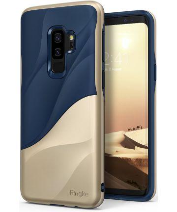 Ringke Wave Hoesje Samsung Galaxy S9 Plus Marina Gold