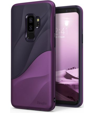 Ringke Wave Hoesje Samsung Galaxy S9 Plus Metallic Purple Hoesjes