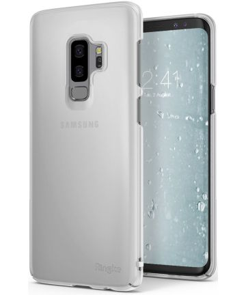 Ringke Slim Samsung Galaxy S9 Plus Ultra Dun Hoesje Frost White