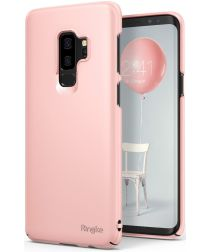 Ringke Slim Samsung Galaxy S9 Plus Ultra Dun Hoesje Peach Pink